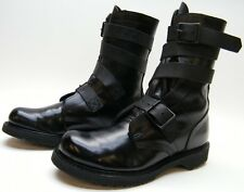MENS Double H Corcoran 5407 Tanker Motorcycle BLK LEATHER BootS USA MADE SZ 9 D