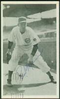 Original Autograph JSA of Paul Minner of the Chicago Cubs