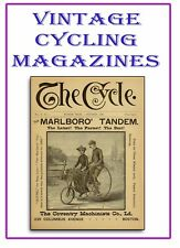 Rare Antique Cycling Bicycle Magazines ☆ on 3 DVDs ☆ History Early Motorcycle M3