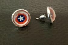 H3075 Ohrstecker echte Süßwasserzuchtperle 7mm Kupfer Ohrhänger Ohrringe