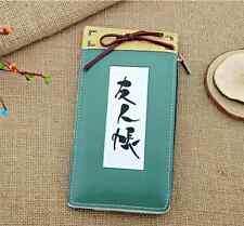 Japan Anime Natsume Yuujinchou Long Wallet Purse PU Leather Gift