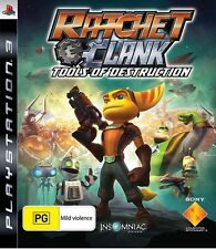 Ratchet and Clank Tools Of Destruction *BRAND NEW* PS3
