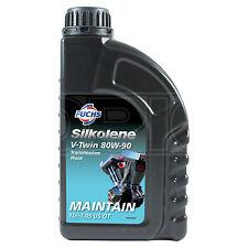 Silkolene V-TWIN 80W-90 Semi-Synthetic 80W90 API GL5 Motorcycle Gear Oil 1 LITRE