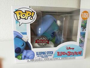 Funko Pop® Sleeping Stitch 1050 Special Edition aus © Disney Lilo&Stitch