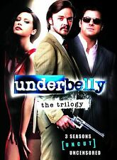 UNDERBELLY - Complete Seasons 1-3 Uncut Trilogy Boxset (NEW DVD)