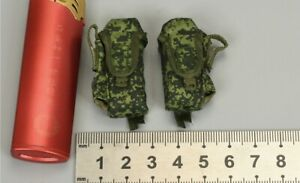 2x Pouch for DAMTOYS 78078S Armed Forces of the Russian Federation -SNIPER 1/6