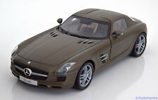 1:18 Minichamps Mercedes SLS AMG Coupe 2009 matt-grey