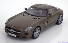 1:18 Minichamps Mercedes SLS AMG Coupe 2009 matt-grey
