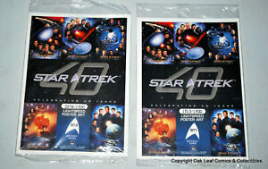 40th Anniversary Star Trek Series 1 ArtiFex Box Topper Sealed BT1 & BT2 SET!