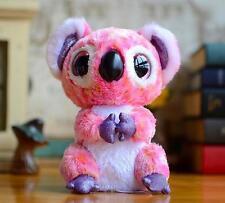 "6"" Cute Colorful Koala Ty Beanie Boos Plush Stuffed Toys Glitter Eyes"