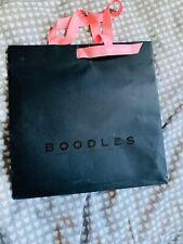 Medium Boodles Paper Carier Bag Used
