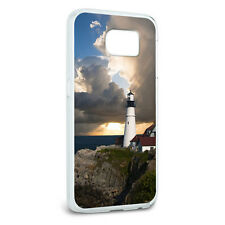 Portland Head Lighthouse Maine Sun Rays Protective Case for Samsung Galaxy S6