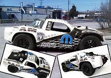 FWR005 Mopar SC Decal Sticker for 1/10 rc racing truck