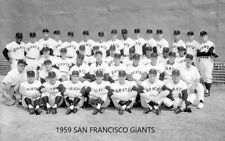 1959 SAN FRANCISCO GIANTS 8X10 TEAM PHOTO BASEBALL PICTURE MLB