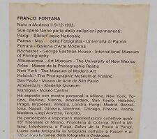 ARTE_DESIGN_FOTOGRAFIA_GRANDE SUGGESTIVA OPERA D'ARTE_FRANCO FONTANA_MODENA_1978