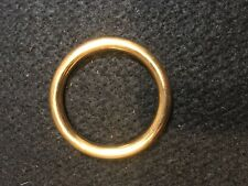 """O Ring - 1 13/4"""" - Solid Brass- Set of 18 (F256)"""