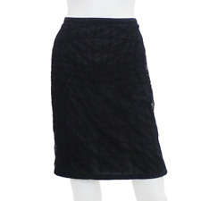 Tom Ford | Mesh Suede Trim Skirt
