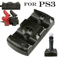 Für Playstation 3 PS3 / MOVE Dual Controller Ladegerät NEU Ladestation R8J7