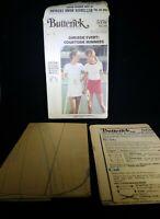 Butterick Sewing Pattern 5378 Misses Tennis Dress T Shirt Size 12 Uncut Vintage