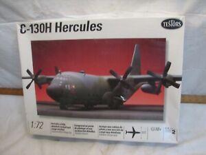 Testors Lockheed C-130H Hercules Military Transport Plane 1:72 Model Airplane