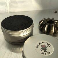 Micronised Molybdenum Disulphide MoS2 dry powder lubricant 35g Moly Powder