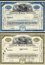Set 2 diff.COLLINS RADIO  COMPANY  (  now Rockwell Collins / UTC ) .