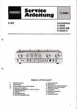 Service Manual-Anleitung für Grundig V 5000