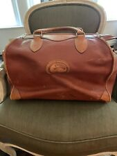 Dooney & Bourke Vintage Large Weekender Travel Carry-On Duffle Bag ~RARE~