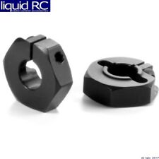 Xray 365354 aluminum wheel hub 12mm - offset -0.75mm 2