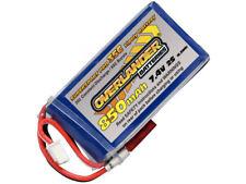 850 mAh 2S 7.4 V 35 C batería Lipo con conector bec