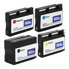 4PK 932 XL 933 XL Ink Cartridge for HP Officejet 6100 6700 6600 7610