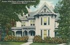 1949 President Harry S. Truman Summer White House,  Independence MO Postcard