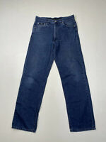 HUGO BOSS ALABAMA STRAIGHT Jeans - W32 L32 - Navy - Great Condition - Men's