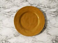 """Chris Madden JC Penney Home Collection Mustard Yellow 11"""" Dinner Plate"""