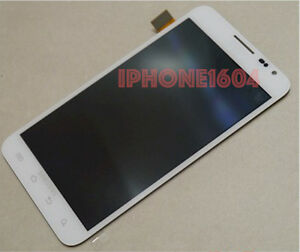 Samsung Galaxy Note i717 lcd display touch digitizer screen assembly OEM White