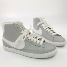 NIKE Mens Blazer High Top Reflective Silver Trainers 577130 Sneakers Shoes UK 6
