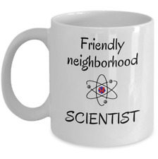 Funny scientific mug Friendly neighborhood Scientist - Science teacher student