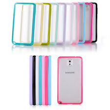 Bumper Transparent Soft Back Case Cover For Samsung Galaxy Note 3 N9000 N9005 4G