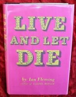 IAN FLEMING'S JAMES BOND - LIVE AND LET DIE - 1st Thus - 1956