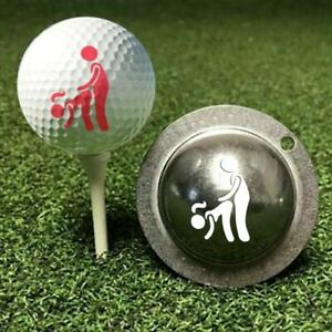 Stainless Steel Golf Ball Marker Painting Mould Golf Ball Mould Unique Gift