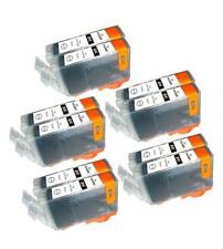 10 NON-OEM INK CARTRIDGE PGI-5 PGI-5BK BLACK CANON IP4500, IP5200, MP500, MP510