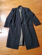CHRISTIAN DIOR Men's Classic Long Wool Coat  Size 44