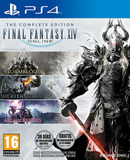 Final Fantasy XIV Online The Complete Edition PS4 Playstation 4 IT IMPORT