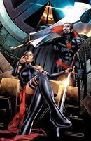 🚨🔥 HELLIONS #8 JAY ANACLETO Psylocke Sinister Exclusive Virgin Variant NM
