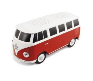 Official Volkswagen Campervan Bluetooth Speaker - Red ZGB508I718 040