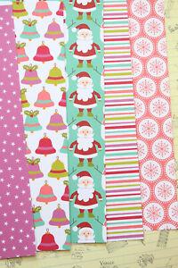 Colorful Christmas Cartoon cardstock 250gsm xmas scrapbooking paper craft cards