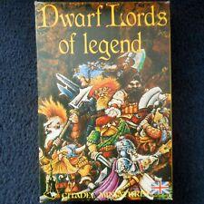 1985 Dwarf Lords of Legend BC3 Boxed Set Citadel Warhammer Army Dwarven Hero MIB