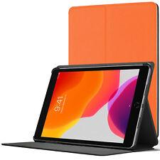 iPad 10.2 Case, Apple iPad 10.2 2019 Cover - Orange + Stylus & Screen Protector
