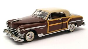 Franklin Mint 1/43 Scale 11321E - 1950 Chrysler Town & Country - Brown/Tan
