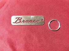 GREAT GIFT!!!!   1966-1977 EARLY TO 1996 FORD BRONCO KEYCHAIN! STOCKING STUFFER!